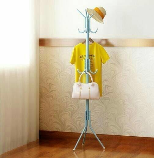 Standing Hanger multifunction tiang gantungan topi tas jaket serbaguna - Alat Jemur Pakaian Multifungsin - Hanger Baju - Gantungan Pakaian - Prodk Best Quality - Produk Best Seller