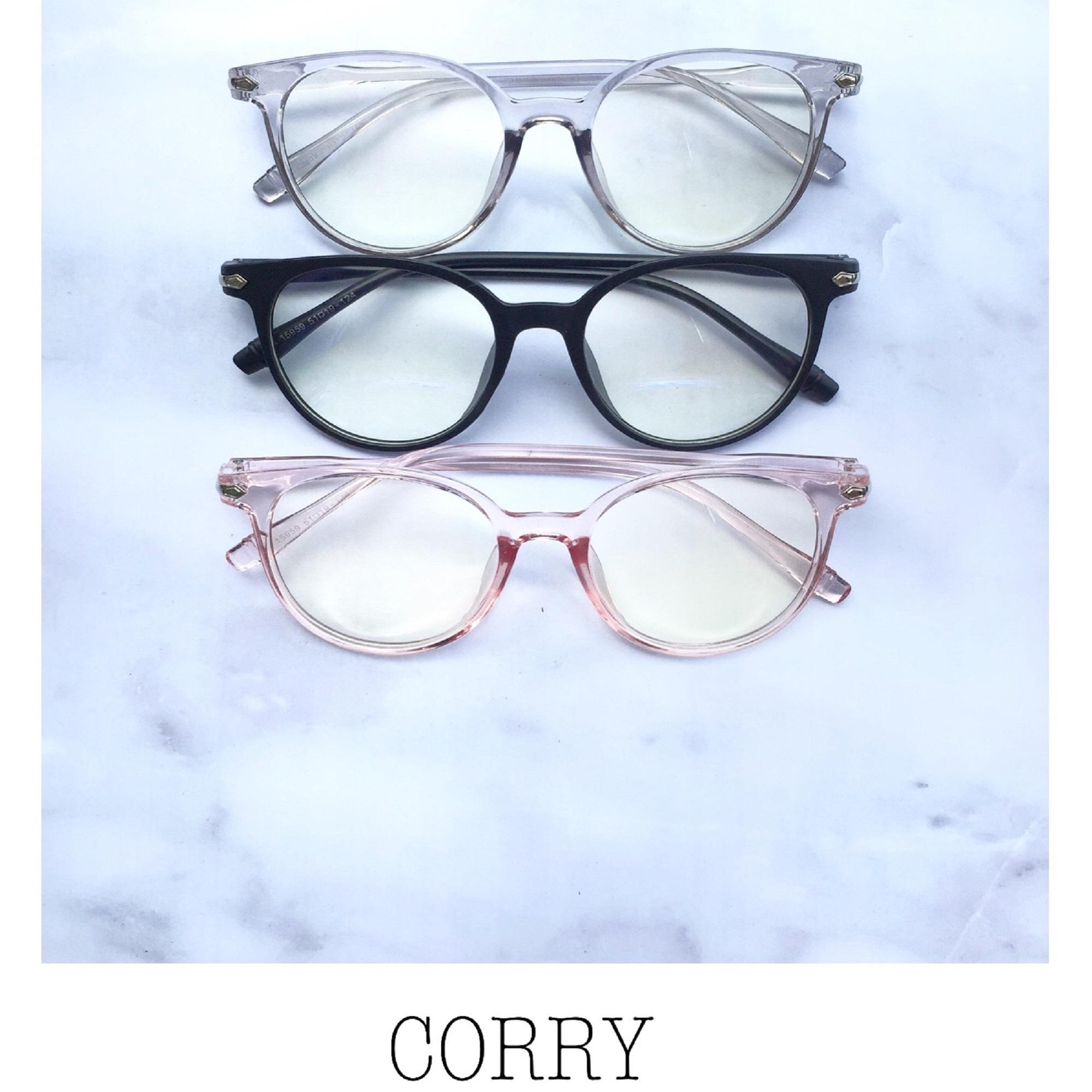 Harga Kacamata Minus Termurah Terbaru 2018 Daftar Frame Kotak Terlaris Corry Orend Tamata Sunglasses Hitam Korea Lensa Aksesoris Fashion Wanita Pria Unisex