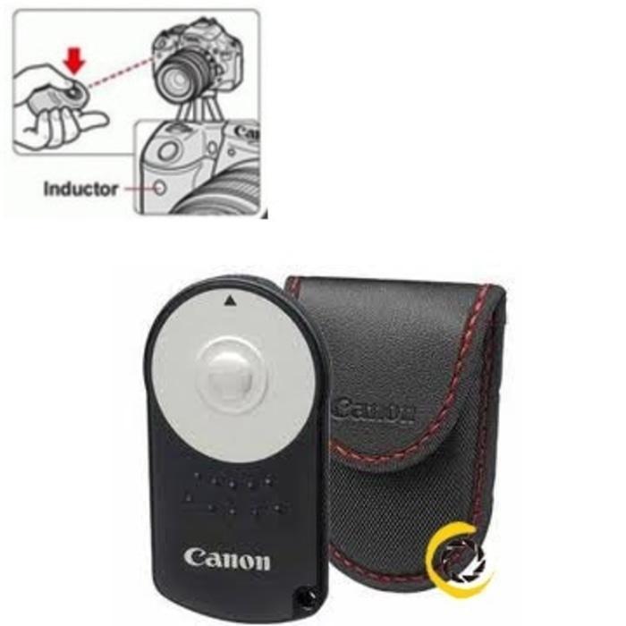 Remote Shutter RC-6 / RC6 Wireless Infrared Untuk Canon EOS SLR DSLR
