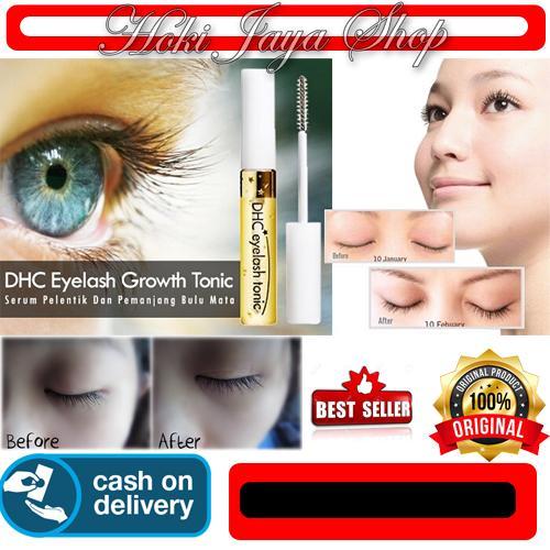 HOKI COD - Relian DHC Eyelash Tonic - Serum Pemanjang Bulu Mata - Serum Gold Hanasui