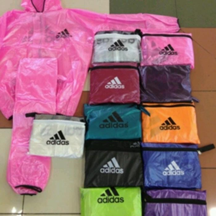 Jas Hujan Jaket Sauna Stelan Atau Setelan Multifungsi Adidas Allsize