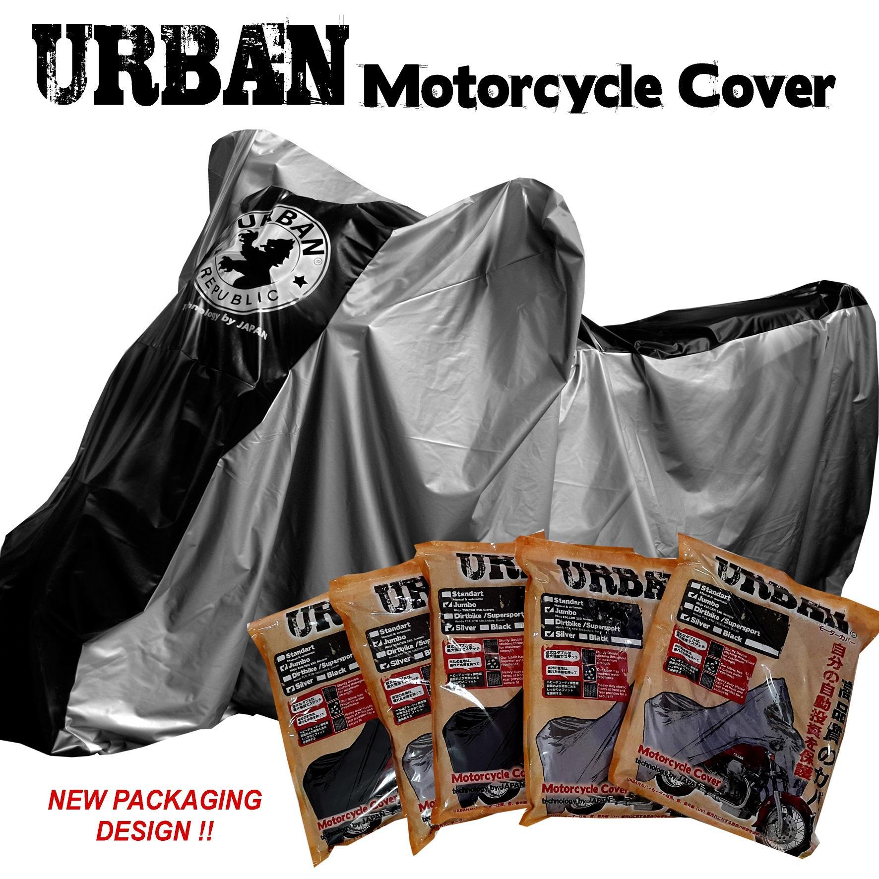 URBAN Cover Motor Bebek / Motor Matic Ukuran Small MIO, SCOOPY, VARIO, SUPRA, SATRIA FU, YAMAHA JUPITER