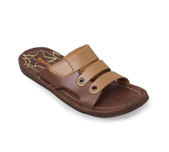 Homyped Junior 03 Sandal Casual Anak - Camel/Brown