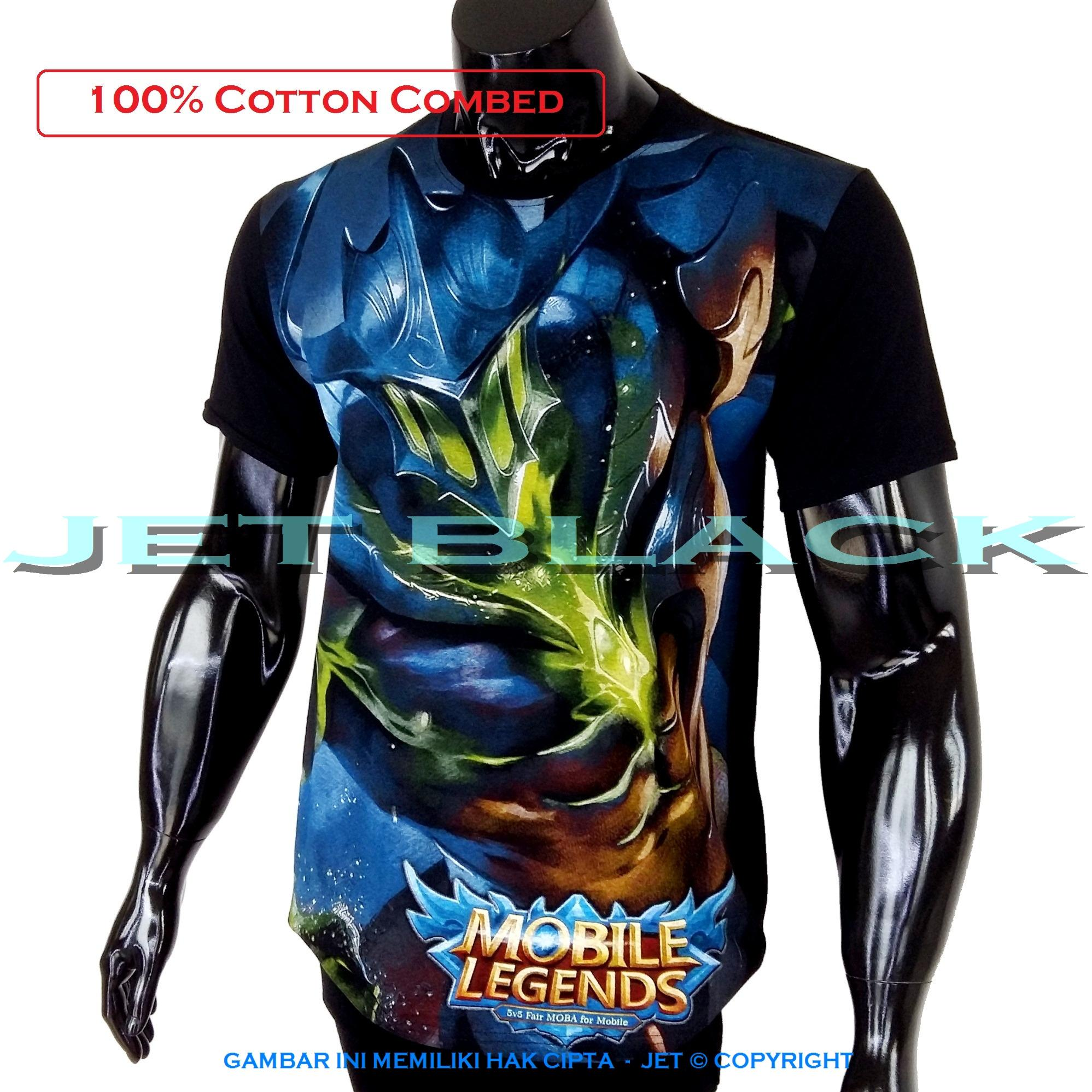 Review Jet Kaos Mobile Legend Argus Distro T Shirt Fashion Soft