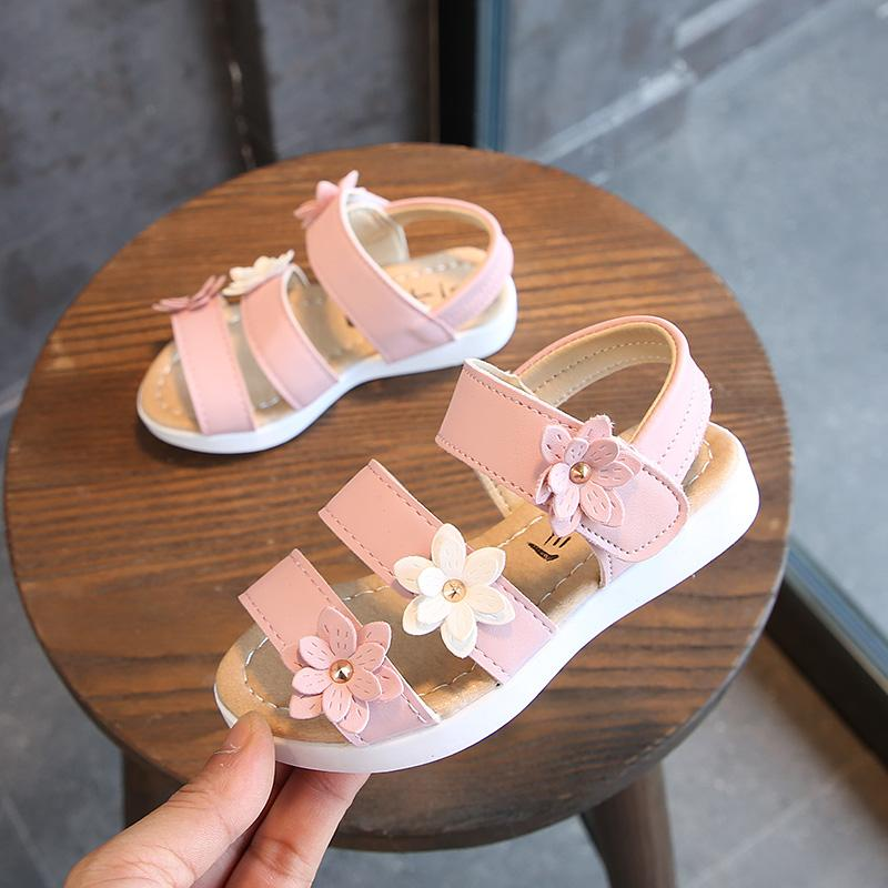 3f6f7494017c girl women Sandals 2018 Summer New Style HUADO Gladiator Sandals Korean  Style Children Students Flat Sandals