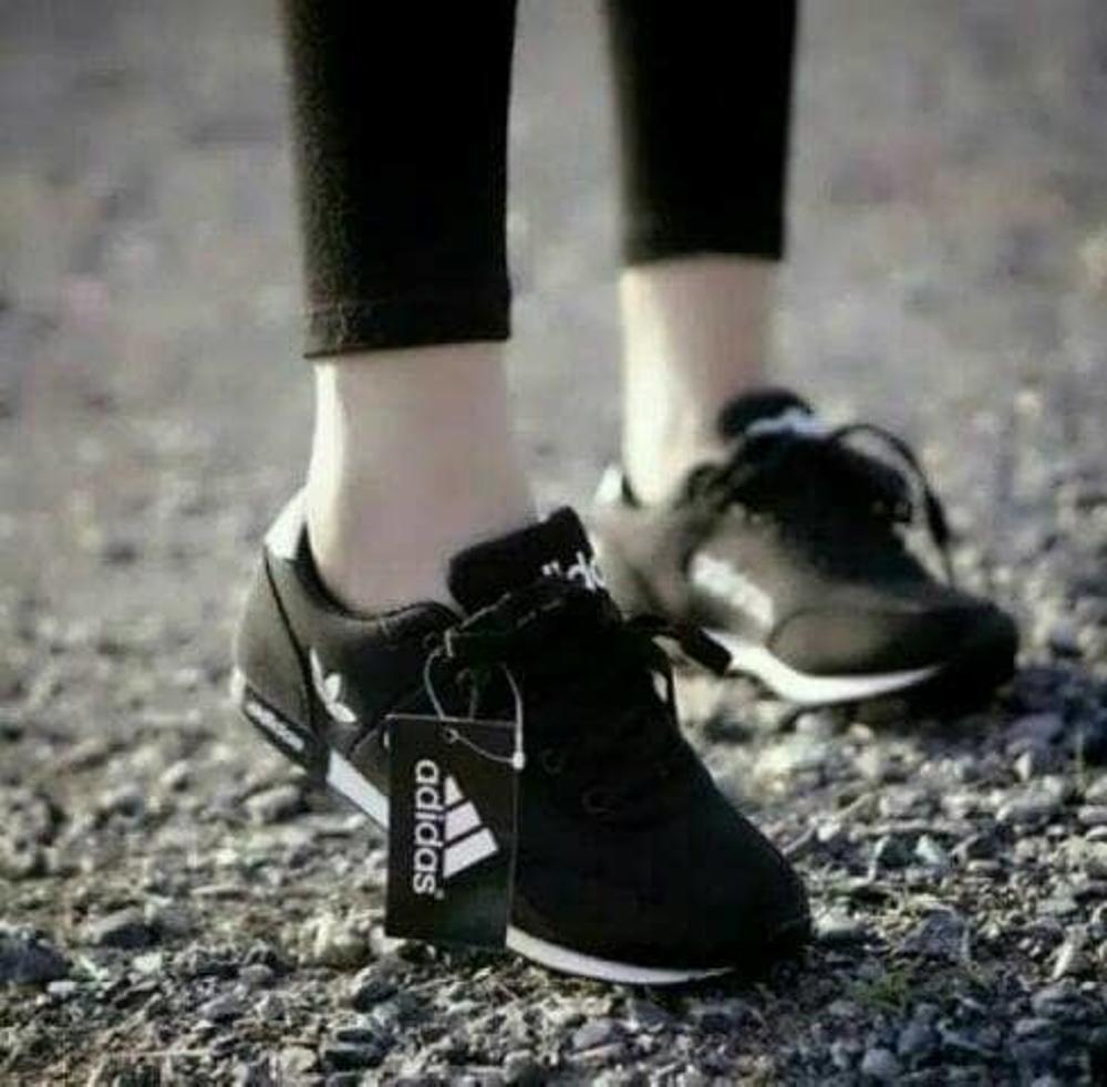 EZELL SHOP Sepatu Wanita Pria Sneakers Hitam Murah