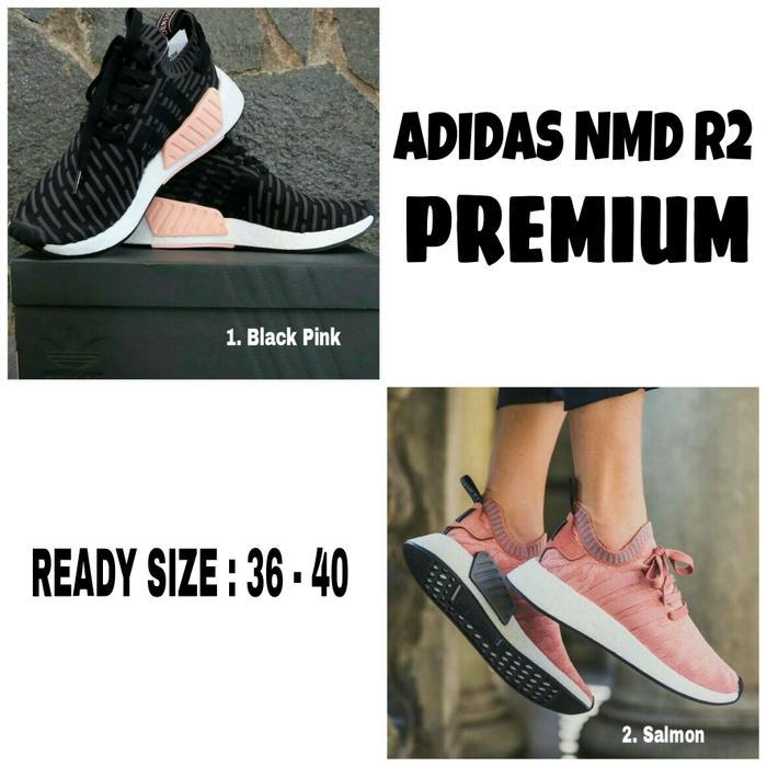 Sepatu Adidas Nmd R2 Premium - 2 Warna