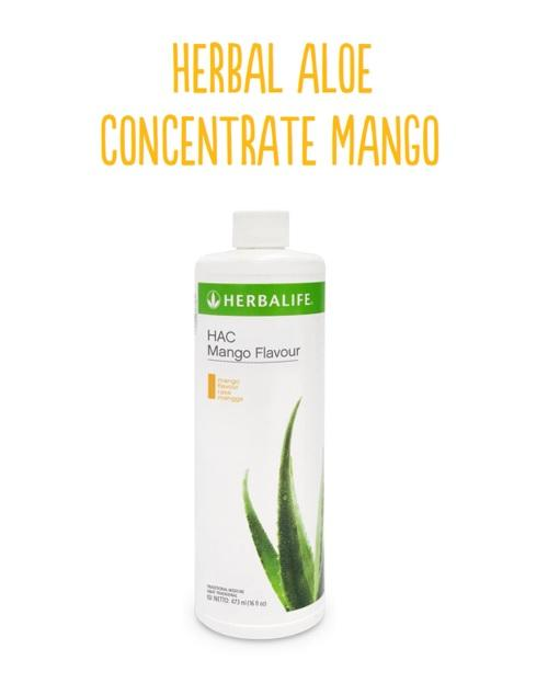 HERBAL ALOE CONCENTRATE Mango Flavour (473 ml)