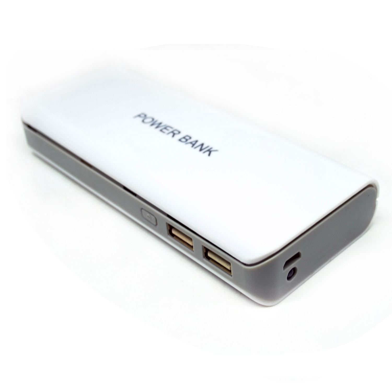 Taffware Diy Exchangeable Cell Power Bank Case For 2pcs 18650 Blue Console Powerbank 2x Casing Modul Kosongan Enclousure Shell Pcb Untuk 5pcs 2
