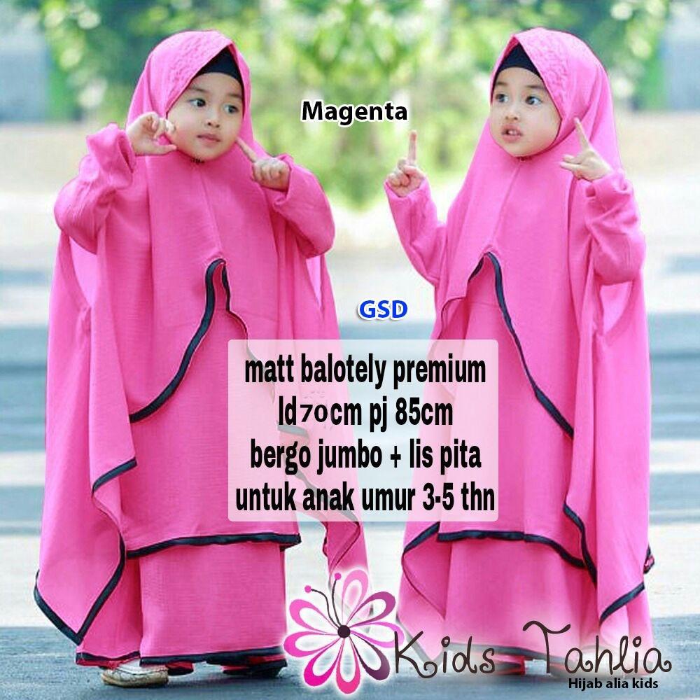 Info Harga Baju Gamis Dewasa Thn Terbaru Termurah Bulan Ini November New Alya Syari Anak Allsize Fit 4 6thn Merah Hijab Thalia 3 5thn