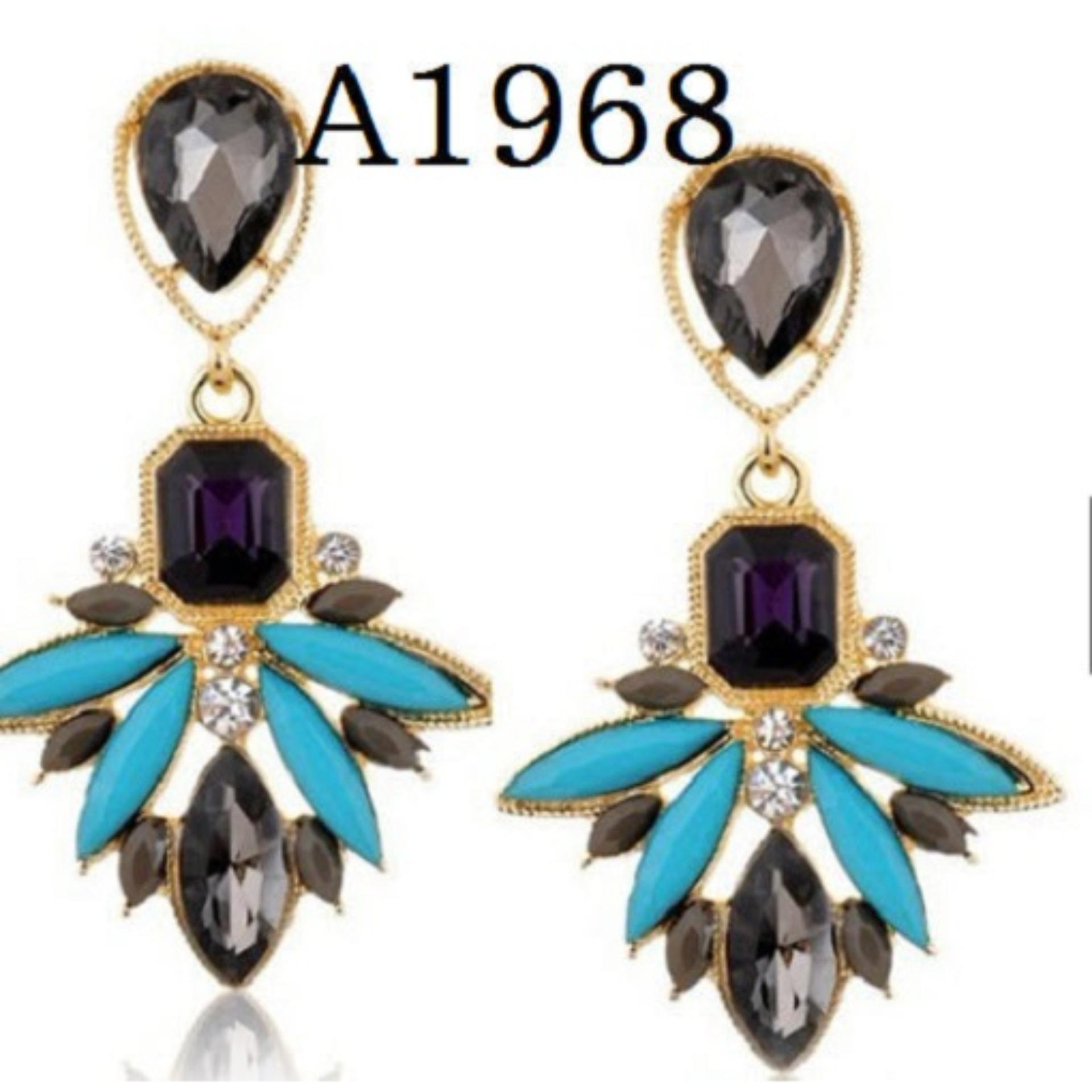 Anting Korea Panjang (Jual Perhiasan Set Gelang Cincin Kalung Xuping)