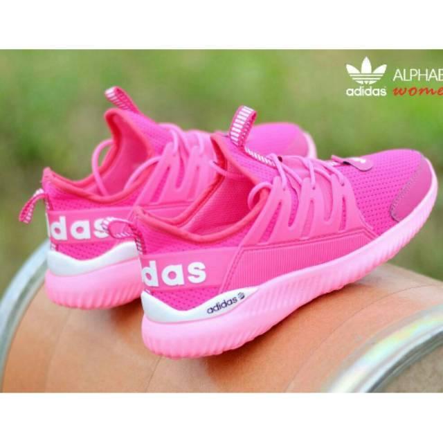 Sepatu cewek Adidas Alphabounce import sepatu olahraga sneakers basket volly hiking gunung runing go