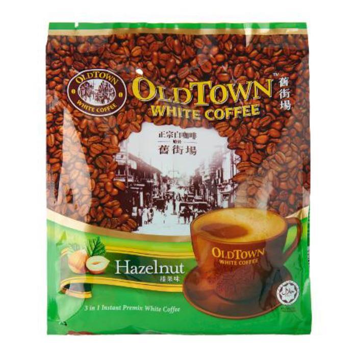 Kopi Old town white coffee hazelnut Oldtown hazelnut isi 15sachet Old town hazelnut enak kopi 3in1 malaysia