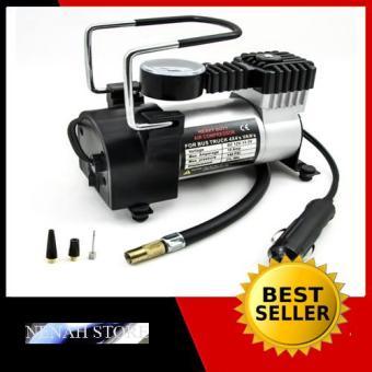 Penjualan Pompa ban mini tekanan 100psi - Heavy duty air compressor 12v DC terbaik murah - Hanya Rp229.578