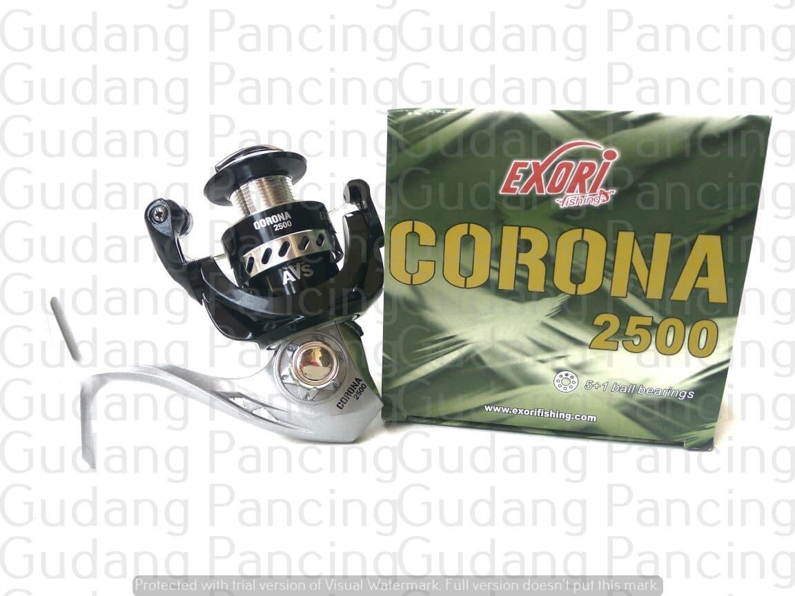 Reel Pancing Berkualitas Exori Corona 2500 Terlaris