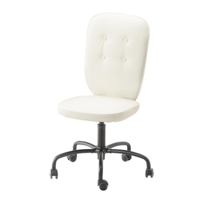 IKEA LILLHOJDEN Kursi putar  kuris kantor, blekinge putih