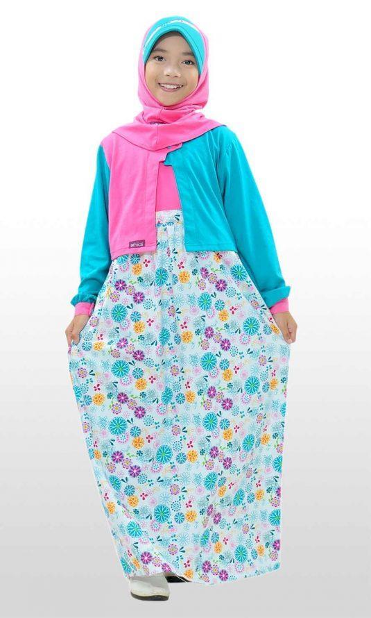 Ethica Moslem Fashion Dress Anak OSK 59 (Tosca)