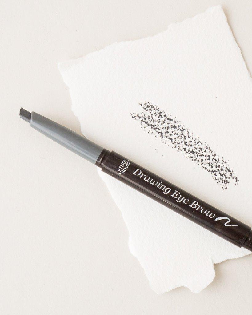 Fitur Etude House Pensil Alis Sikat 2 In 1 Black Brown Drawing Eyebrow Eye Brow New Gray