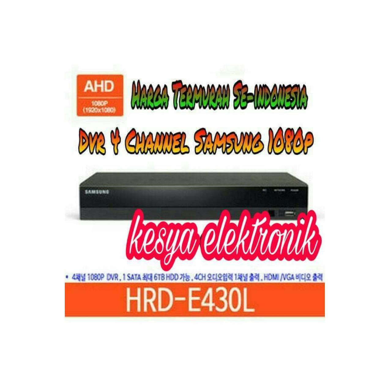 TERBARU DVR SAMSUNG 4 CH FULL HD HDR-E430L 1080P