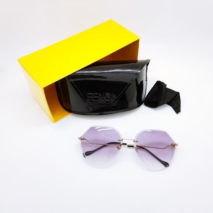Kacamata / Sunglass Wanita Fendi As-5161 Fullset + Cairan Pembersih