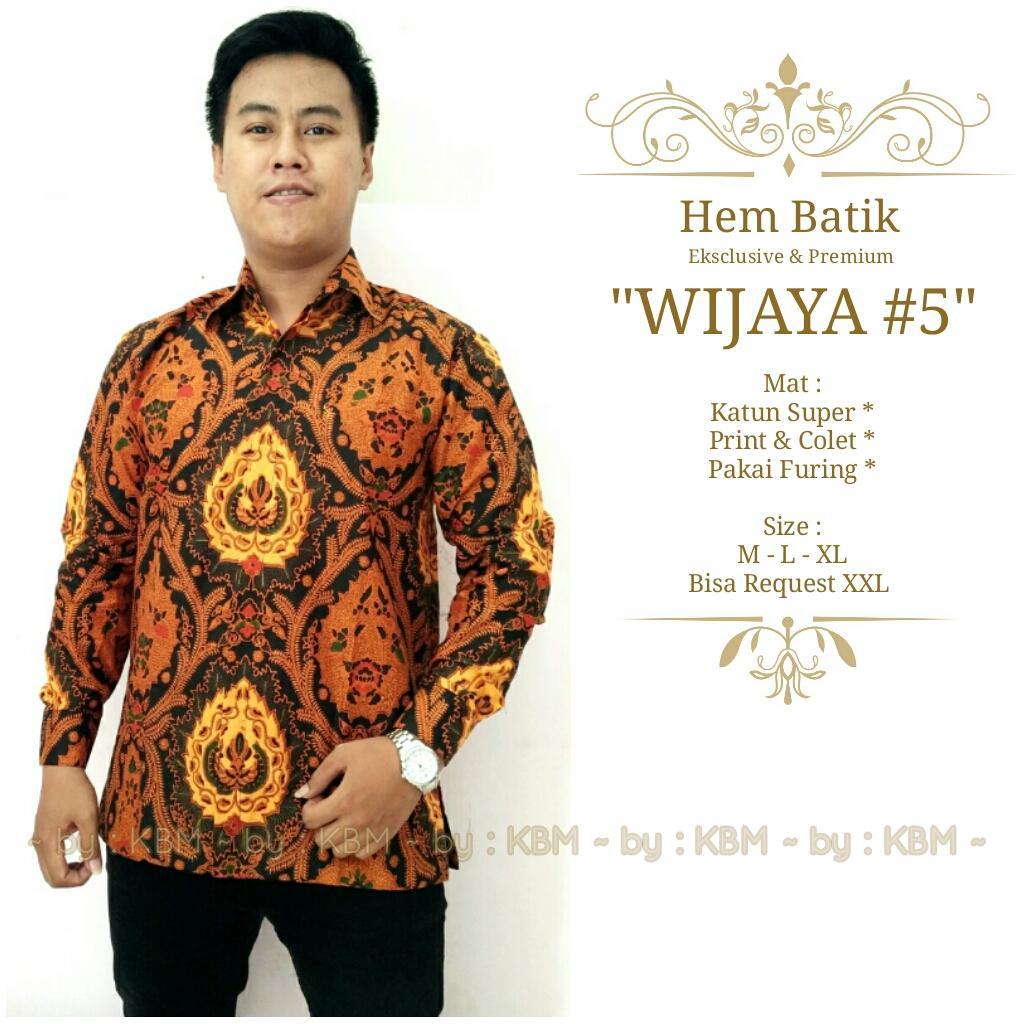 promo kemeja batik eksclusive dan premium