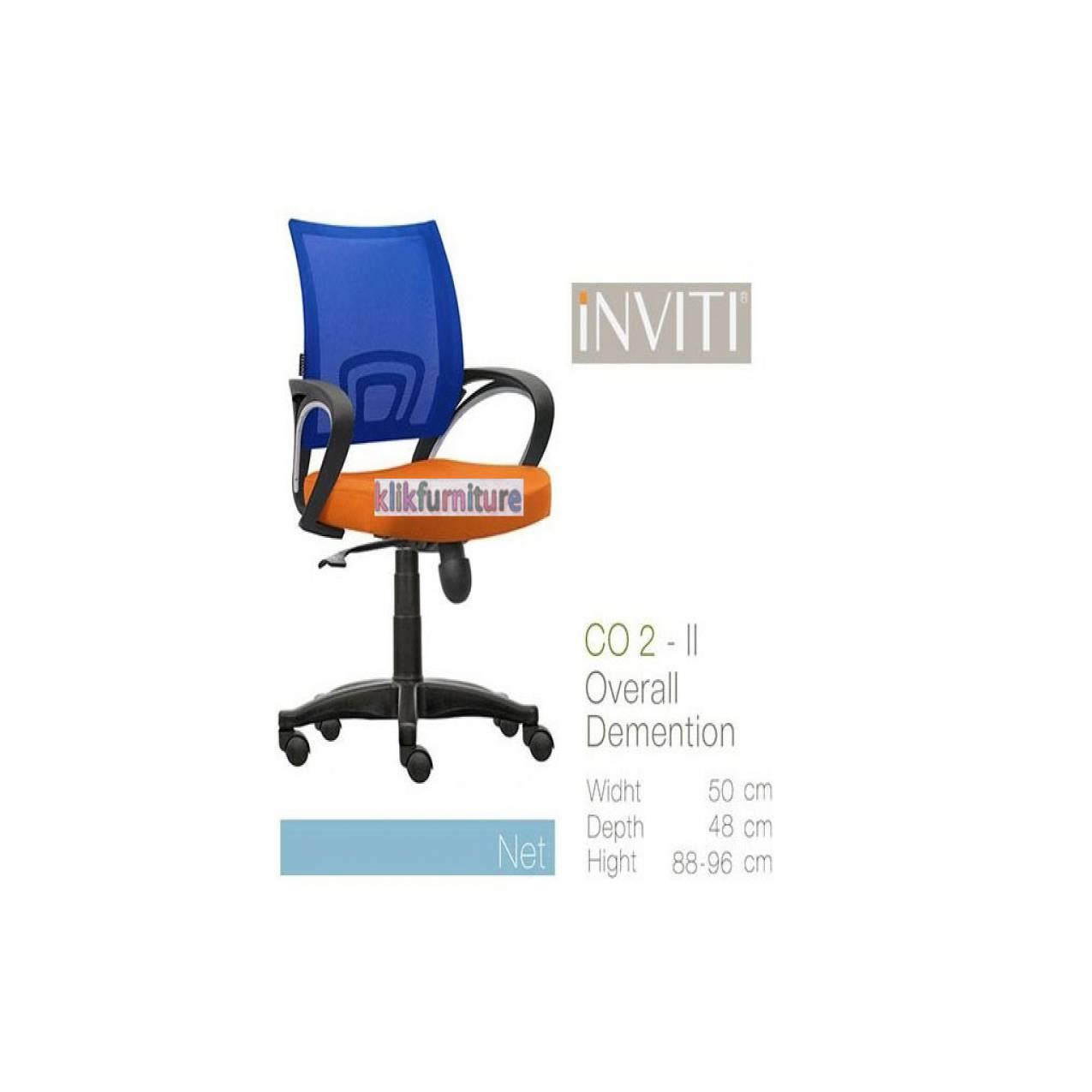 CO2 II INVITI Kursi Kantor/Office Chair