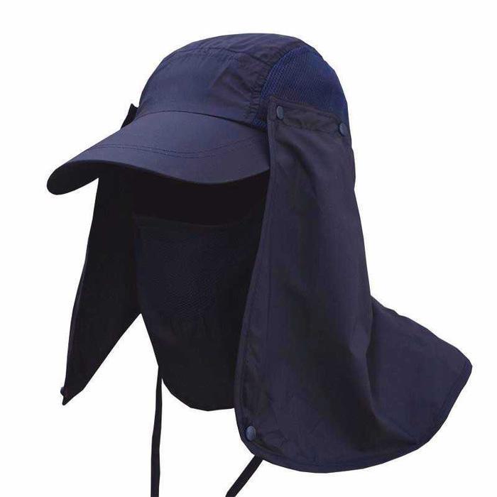 Topi Survival Lapangan Gunung Pantai Memancing Anti UV matahari