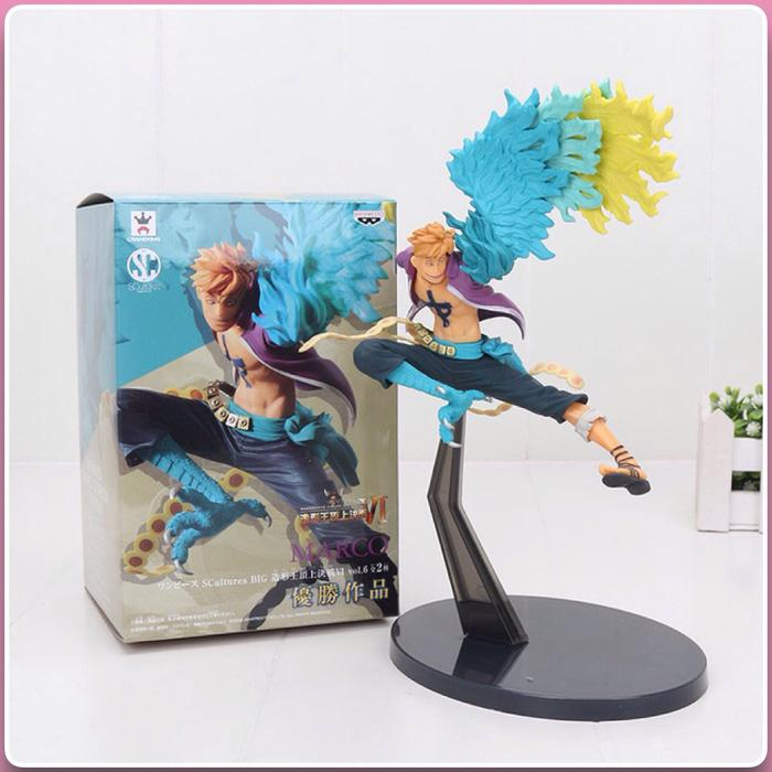 Action Figure One Piece Marco The Pheonix - Grr3Zv