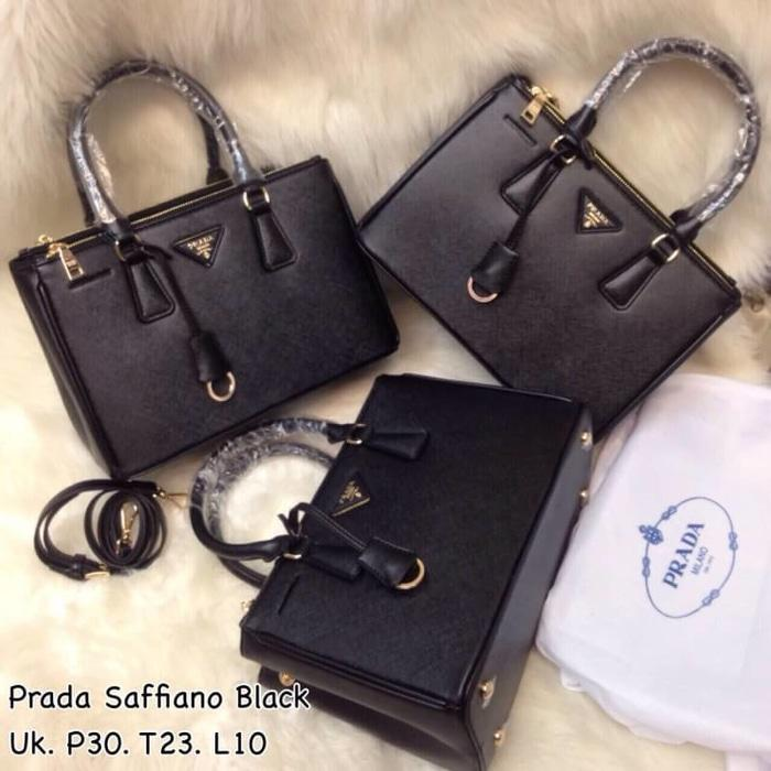 Tas Prada Safiano Semi Premium Authentic - 9KAx1f