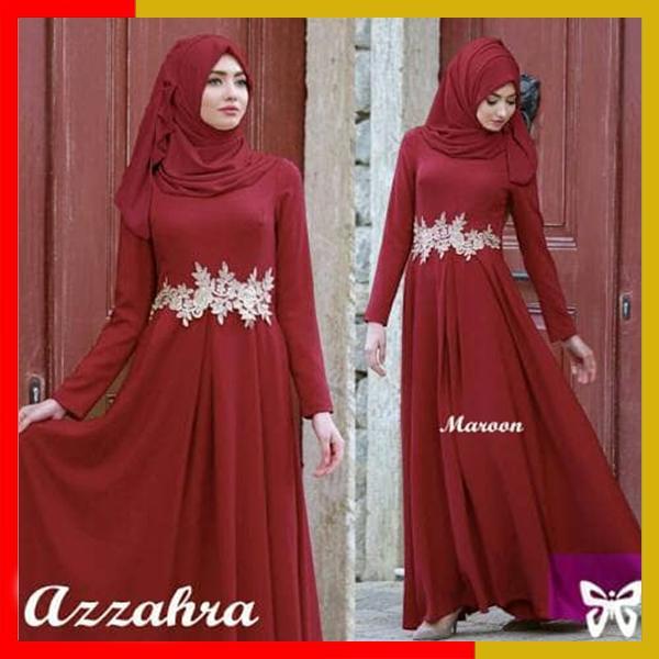 Gamis / Baju Wanita Muslim Azzahra Syari