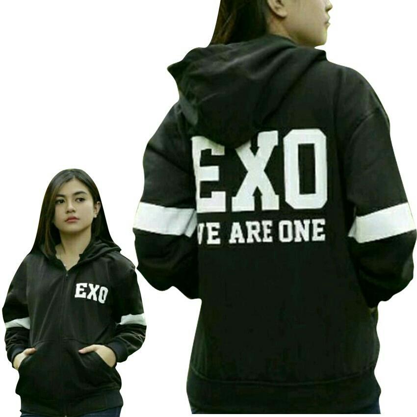 R.S.Jaket sweater wanita EXO