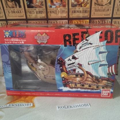 The Red Force Pirate Ship - One Piece Grand Ship -