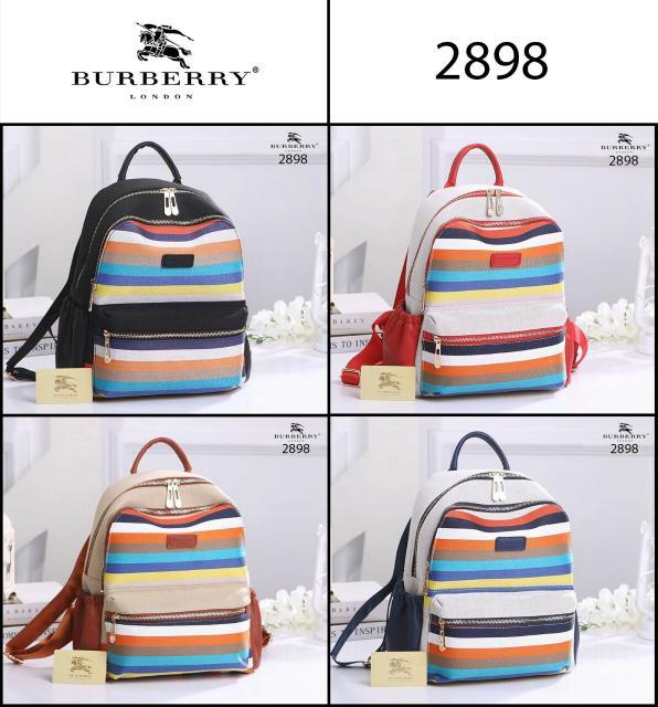 TAS RANSEL Fashion Wanita TERBAIK / Tas Backpack IMPORT MURAH / TAS RANSEL BURBERRY LONDON NOVA 2898 ORIGINAL