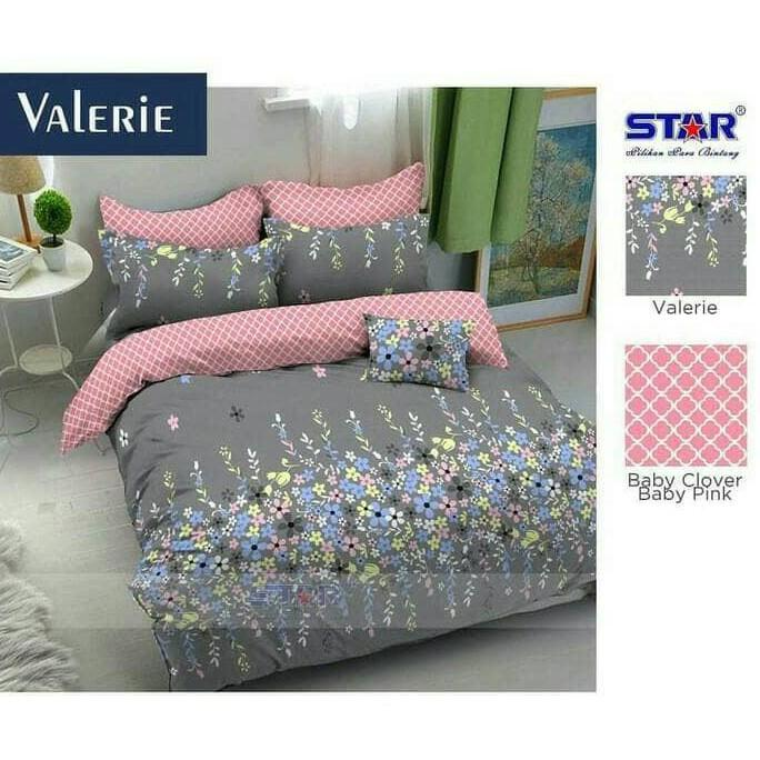 BEDCOVER STAR VALERIE UKURAN SINGLE - JDOAIHTG