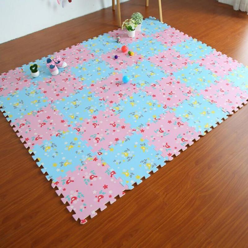 Matras/Tikar/Karpet/ Puzzle alas lantai evamat/evamats motif Bunga