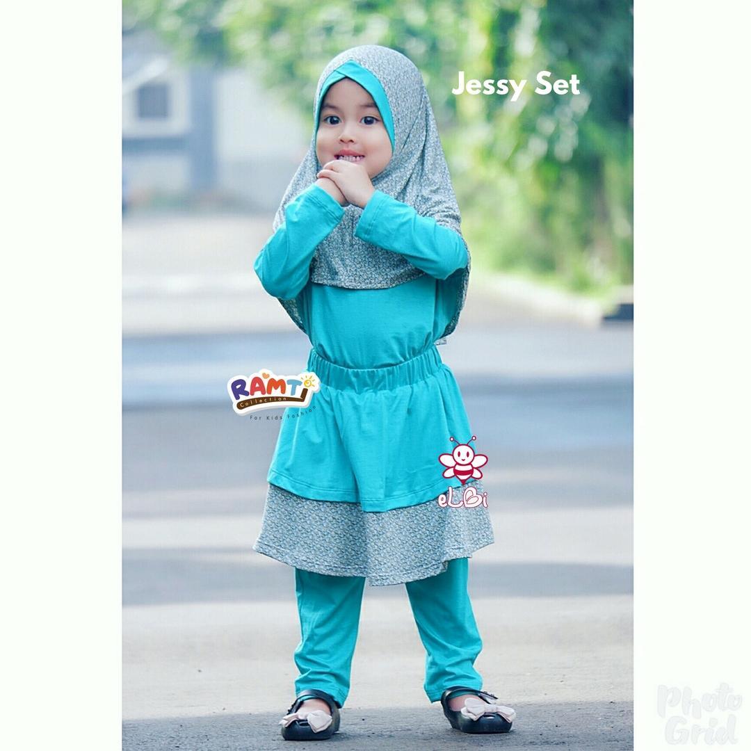 baju anak bahan kaos I busana muslim anak sidoarjo I jessy