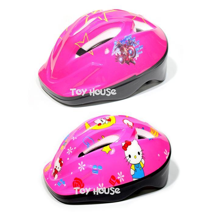 Gambar Produk Rinci Helm Sepatu Roda Anak Karakter - Helm Sepeda Anak -  cRR5oK Terkini 898e563b59