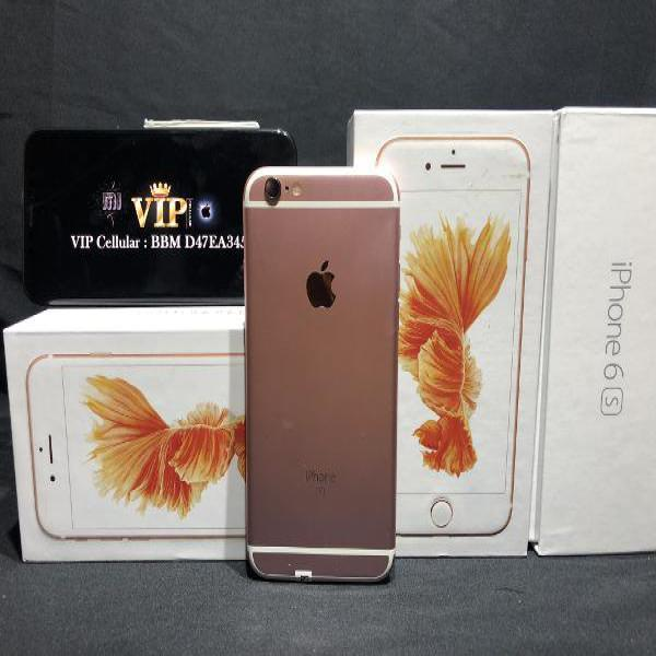 iPhone 6S 16GB Second Seken ROSE GOLD - ORI - CAMERA SILENT