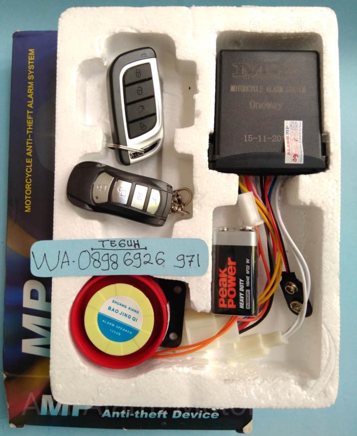 Alarm Mp One lgsg Colok soket ke yamaha NMax Kualitas No.1 - KxfNSJ