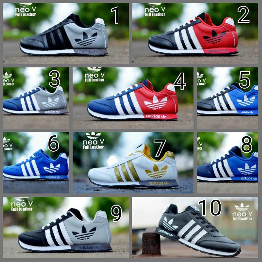 Cek Harga Baru Jual Sepatu Casual Sport Adidas Alpha Bounce Fashion Addidas Alphabounce Pria Neo V Leather