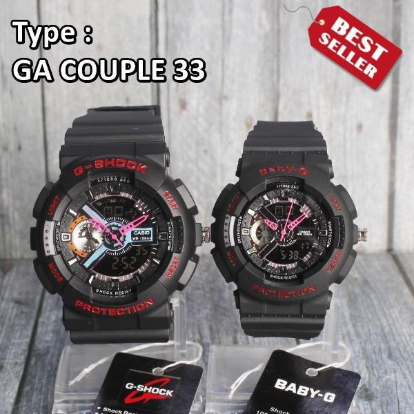Jam Tangan Casio Couple D G-Shock & Baby-G Water Resist - Limited Jam Tangan Casio Couple D G-Shock & Baby-G Water Resist - Limited