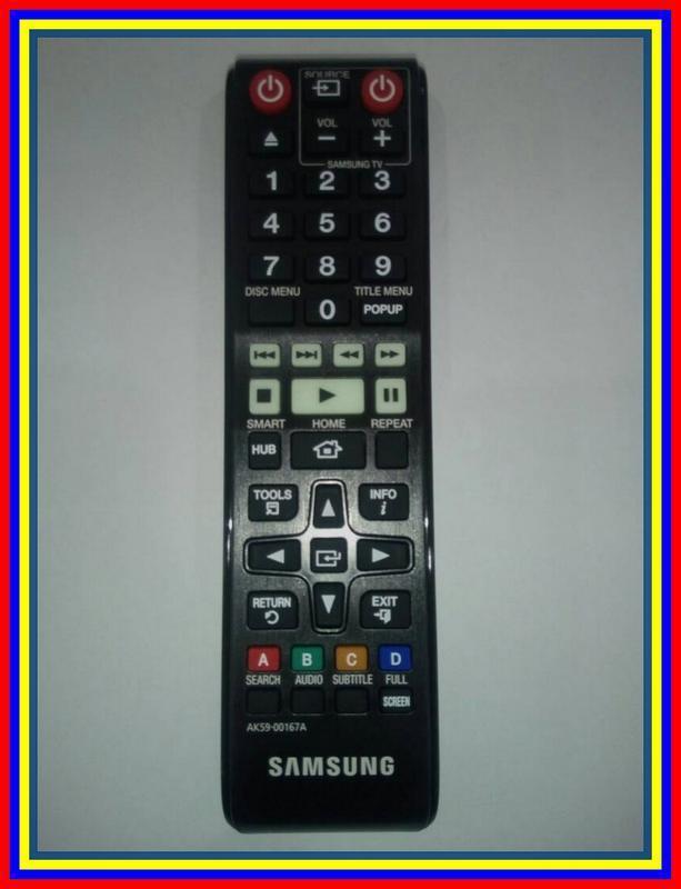 Remot Remote DVD Samsung Bluray Ak5900167A Ori Original Asli