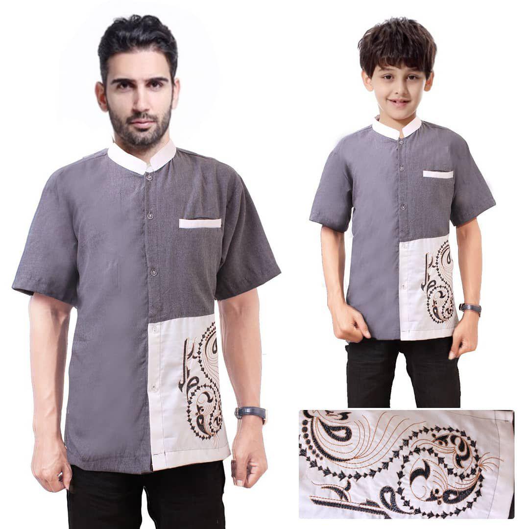 Couple atasan baju koko ayah dan anak 03,tannisa collection