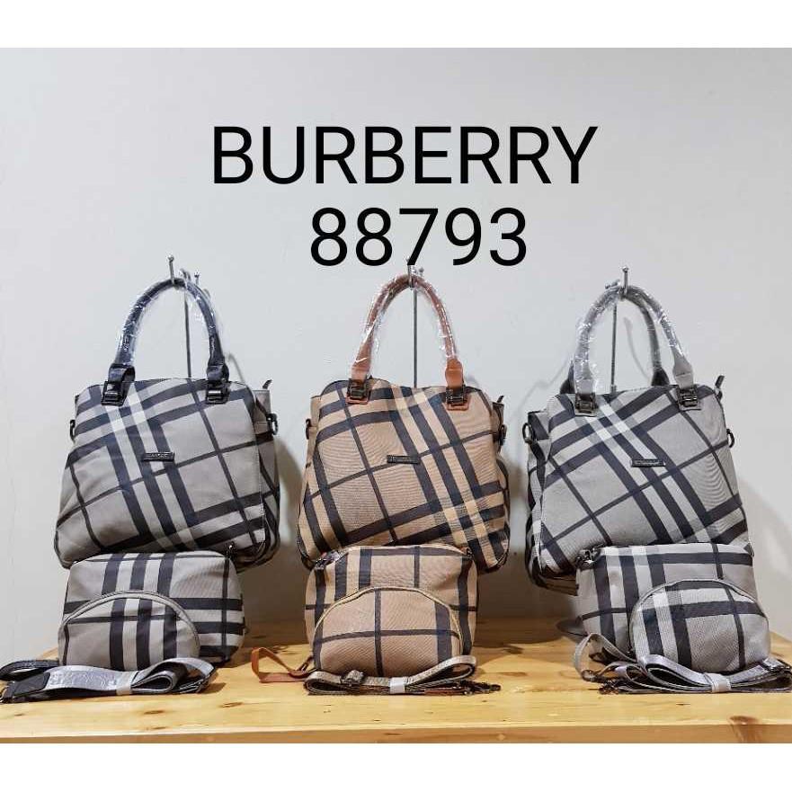 Tas Import Branded Burberry 3in1 Super (Kode 88793)