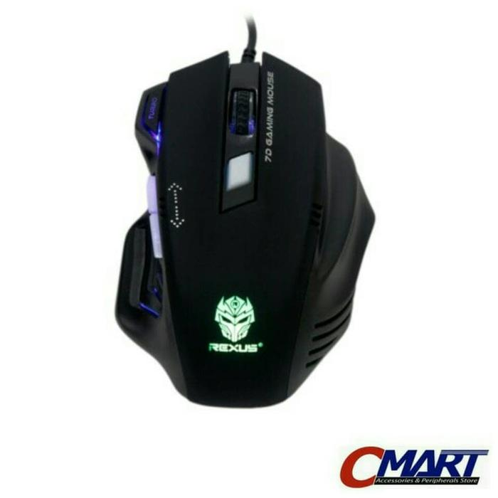 ORIGINAL - Rexus RXM-G7 Elite 2400dpi Laser Sensor Gaming Mouse