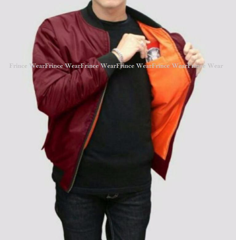 Jaket Bomber / Pilot Jaket Trend Terbaru pria (NAVY)