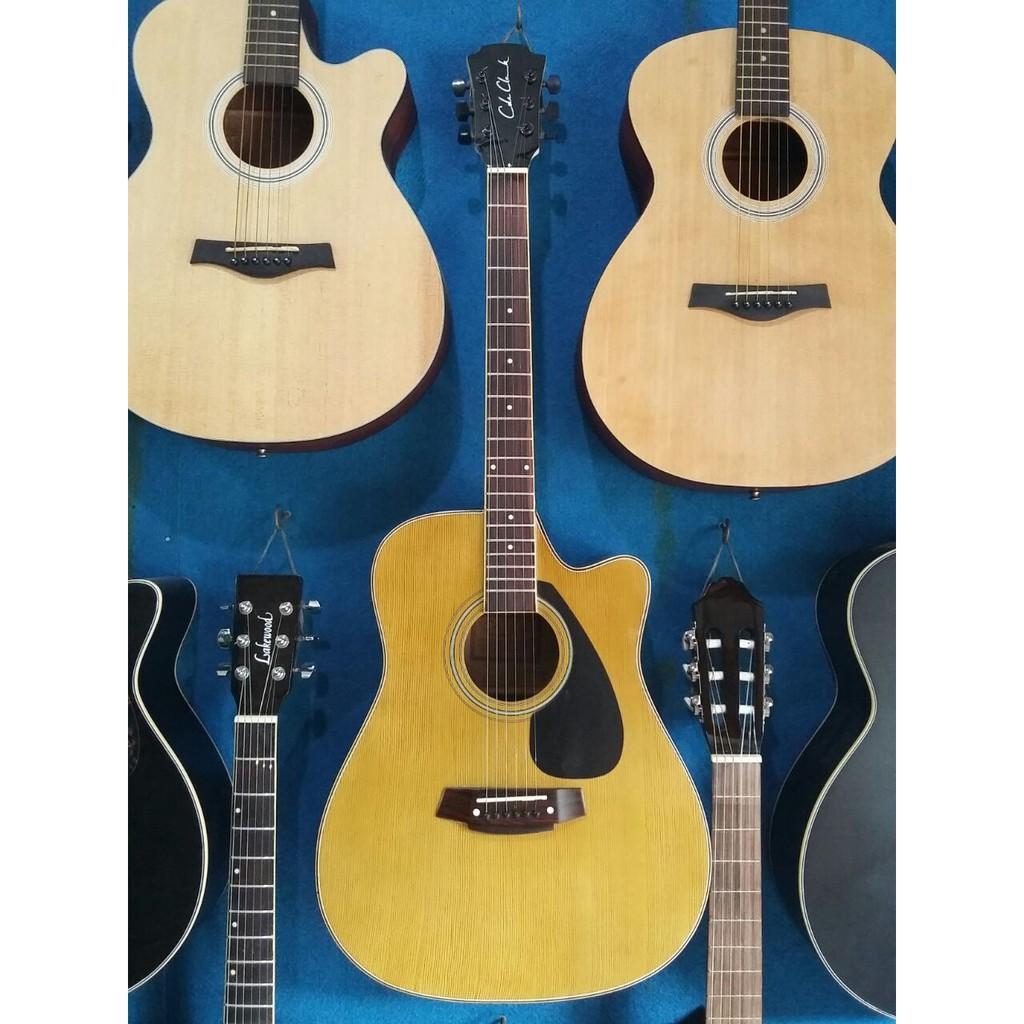 Gitar Akustik Elektrik Jumbo Cole Clark Orange Eq 7545R Jakarta Murah