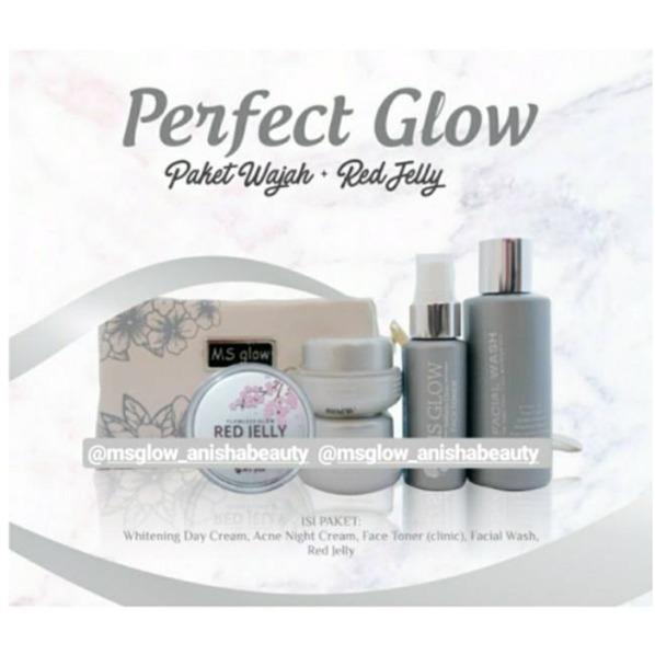 Paket Perfect Glow Ms Glow & Red Jelly