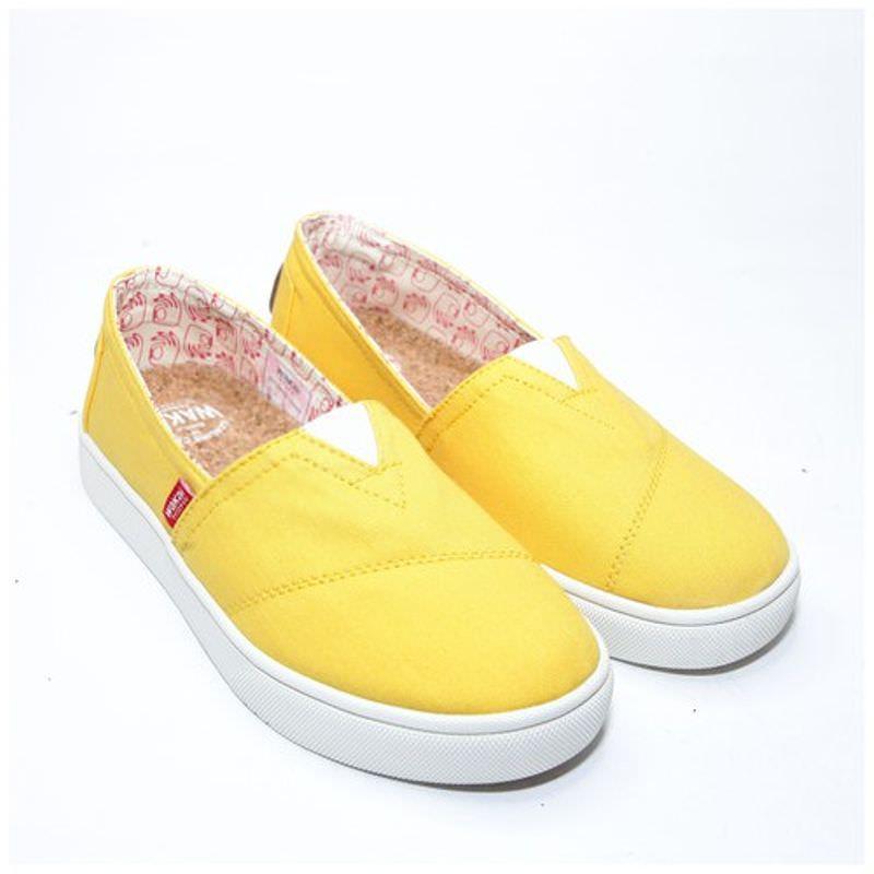 Wakai Hashigo Yellow Sepatu Slip On