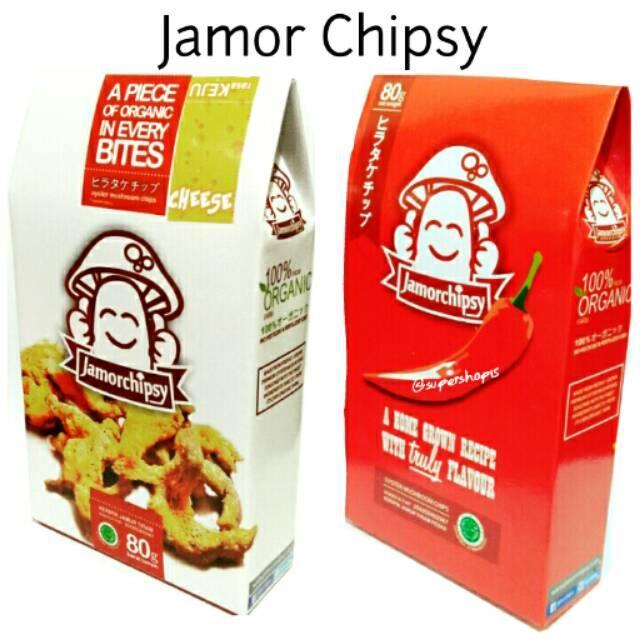 Jamorchipsy Keripik Jamur Tiram. Jamor Chipsy